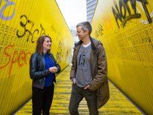 Marianne van der Velde en Martin Scheijgrond. Foto: Eric van Nieuwland